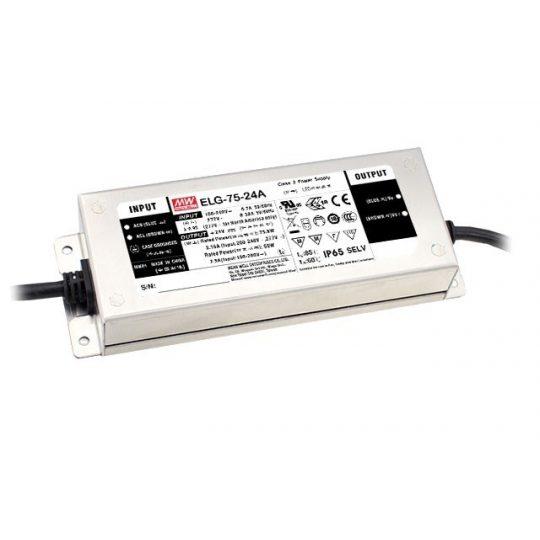 MEANWELL  75W ELG-75-24A 75W LED tápegység  IP65