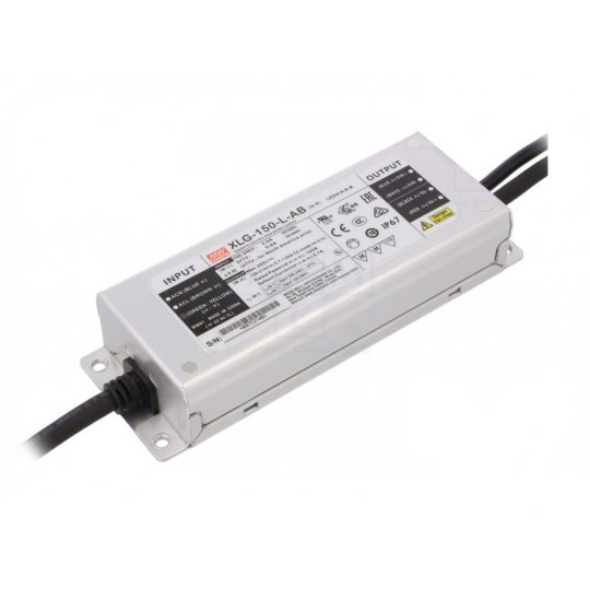 MEANWELL 150W XLG-150-12-A  LED tápegység IP67