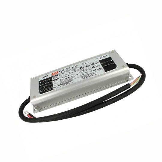 MEANWELL 200W XLG-200-12-A LED tápegység IP67