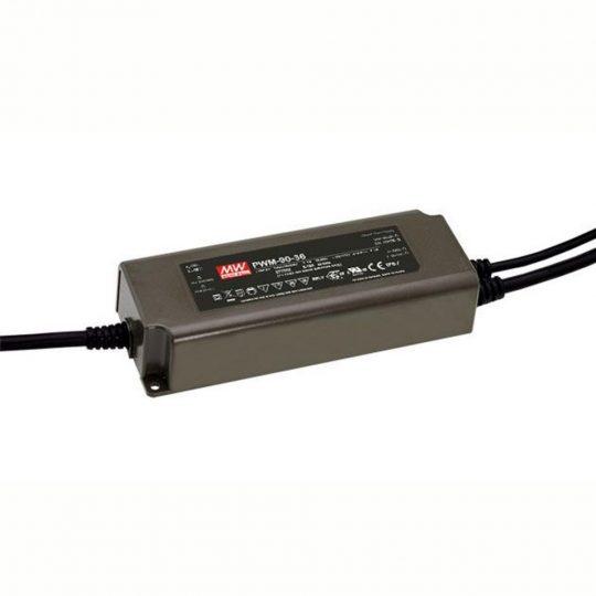 MEANWELL  90W PWM 90-12  90W/12V/7.5A dimmelhető LED tápegység