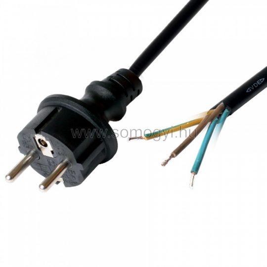 N8-5/1,5  hálózati csatlakozókábel 5m 3x1,5mm2