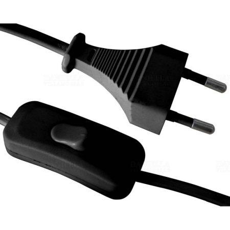 STILO FlexO MTL 2X0,75  230cm kapcsolós vezeték