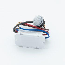 LXM150  miniatűr beépíthető mozgásérzékelő bekapcsolható alkony funkcióval 100° látószög 8 méter érzékelési távolság
