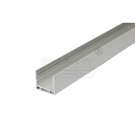 LED profil VARIO30-02 ACDE-9/TY 4000mm eloxált