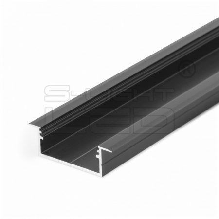 LED PROFIL VARIO30-06 ACDE-9/U9 2000mm FEKETE