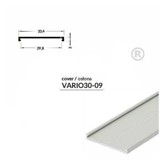 LED profil VARIO30-09 2000mm eloxált