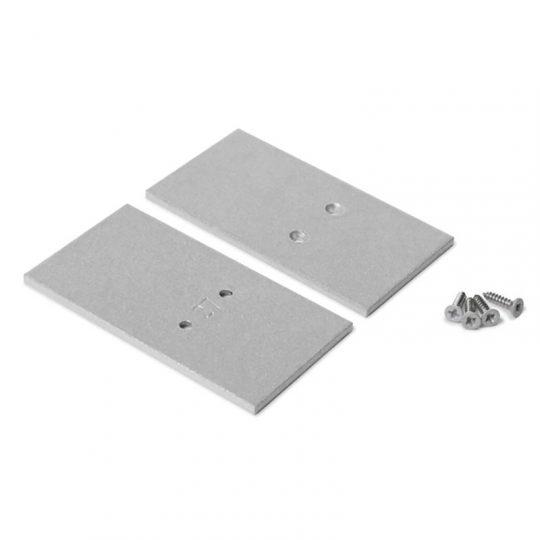 LED profil végzáró VARIO30-27 ezüst (33,4 x 67,5 x 2)