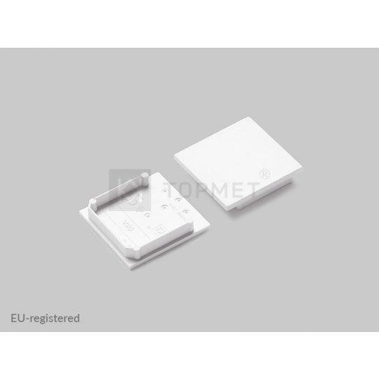 LED profil végzáró VARIO30-08 fehér
