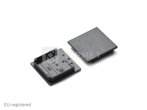 LED profil végzáró VARIO30-08 fekete