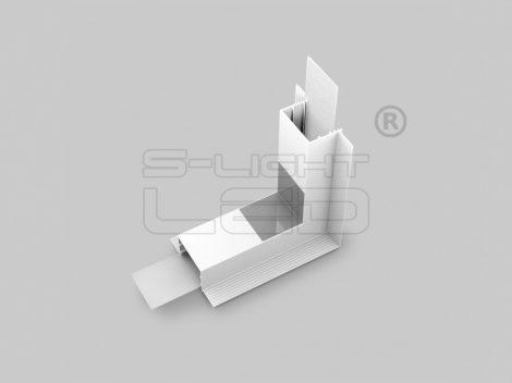 LED profil VARIO30-05 sarokidom térben forduló 270°-os (fehér)