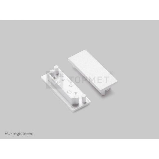 LED profil végzáró VARIO30-01 fehér