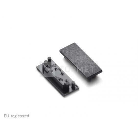 LED profil végzáró VARIO30-01 fekete