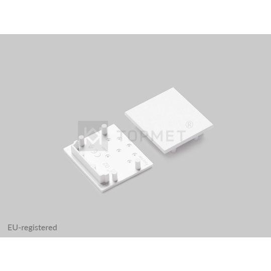 LED profil végzáró VARIO30-02 fehér
