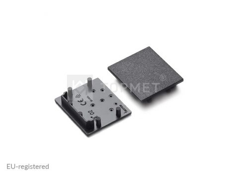 LED profil végzáró VARIO30-02 fekete
