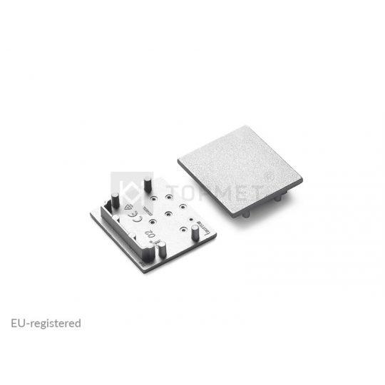 LED profil végzáró VARIO30-02 ezüst