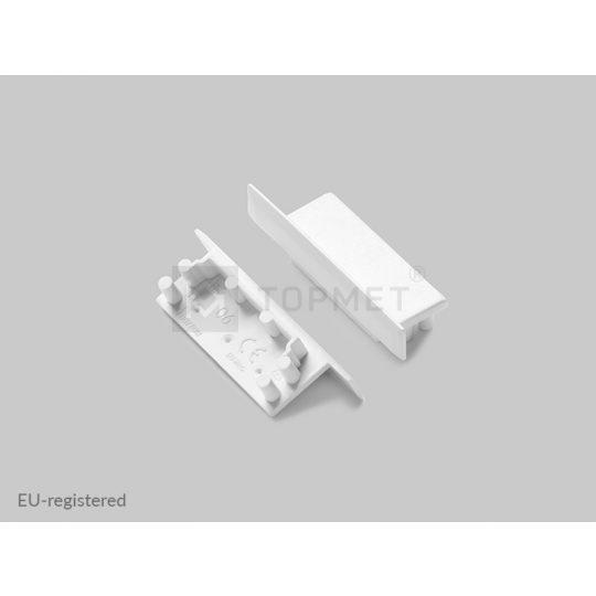 LED profil végzáró VARIO30-06 fehér