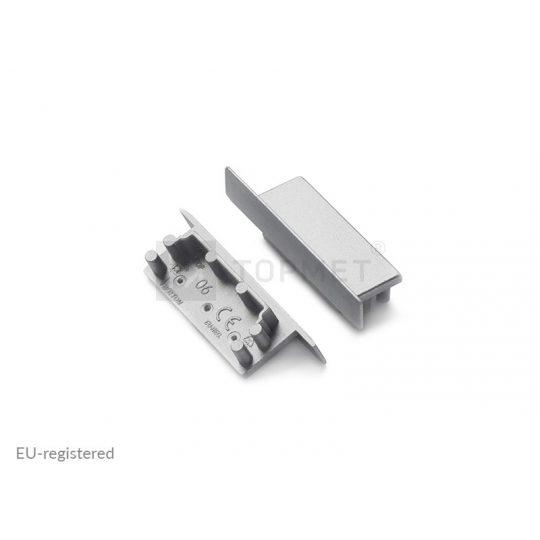 LED profil végzáró VARIO30-06 ezüst
