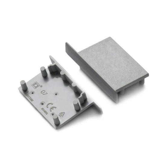 LED profil végzáró VARIO30-07 szürke