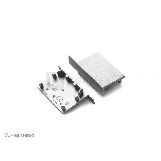 LED profil végzáró VARIO30-07 ezüst