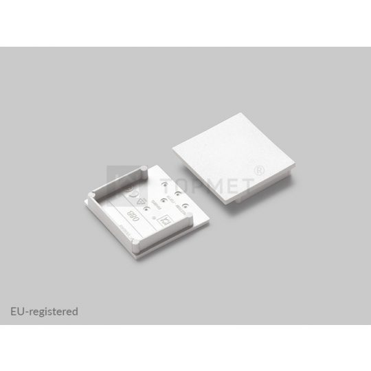 LED profil végzáró VARIO30-08B fehér