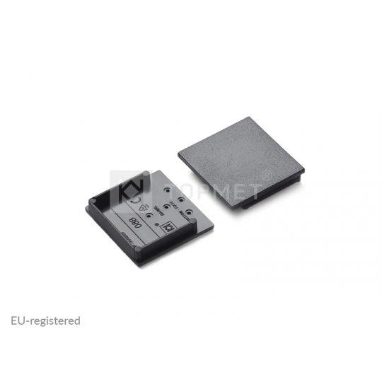 LED profil végzáró VARIO30-08B fekete