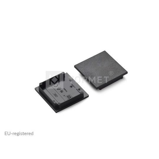 LED profil végzáró VARIO30-08C fekete
