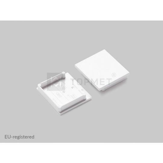 LED profil végzáró VARIO30-08D fehér