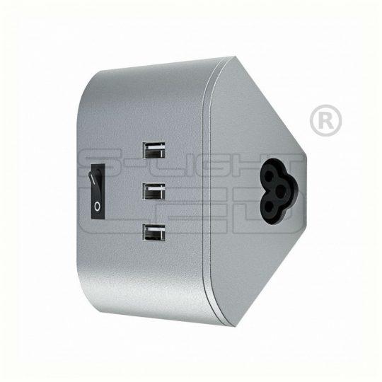 Osram Linear LED Corner USB socket 3x5V 1A kiegészítő W05-W06