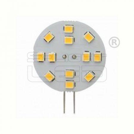 LED G4 2W 3000K 12 SMD OLDALSÓ CSATLAKOZÓ30mm