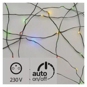 EMOS LED fényfüzér nano 7.5m 75LED IP44 multicolor időzítős