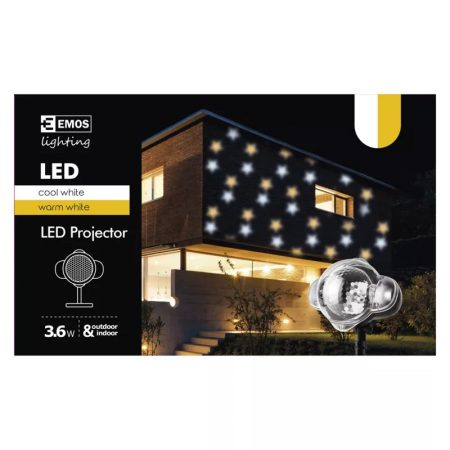 EMOS LED projektor csillagok IP44
