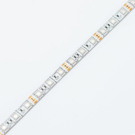 SL-RGB-5050WU60 S-LIGHTLED RGB SZALAG 60LED/méter IP65 szilikon 12V