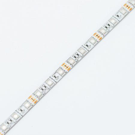 SL-RGB-5050WU60 S-LIGHTLED RGB SZALAG 60LED/méter IP54 szilikon 12V