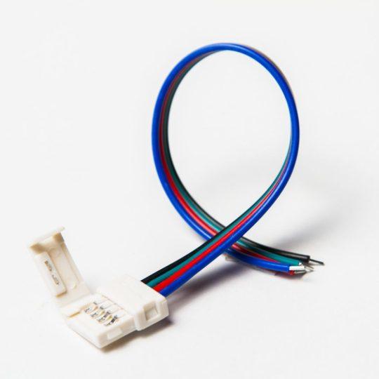RGB LED szalag betáp rugós