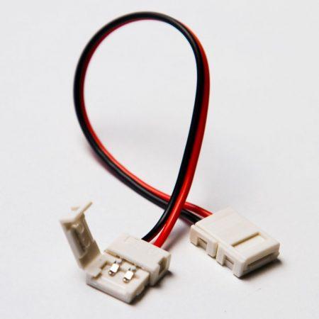 3528 LED szalag toldóelem vezetékkel 8mm