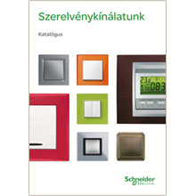 Schneider Electric szerelvény katalógus letöltés
